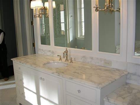 Bathroom Marble Vanity Tops by Best Color For Granite Countertops And White Bathroom