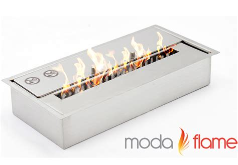 moda flame pro  bio ethanol fireplace burner insert