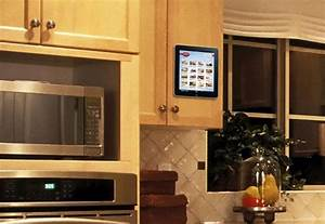 padtab wall mount for ipad and tablet pc gadgetsin With kitchen cabinets lowes with apple pencil holder sticker