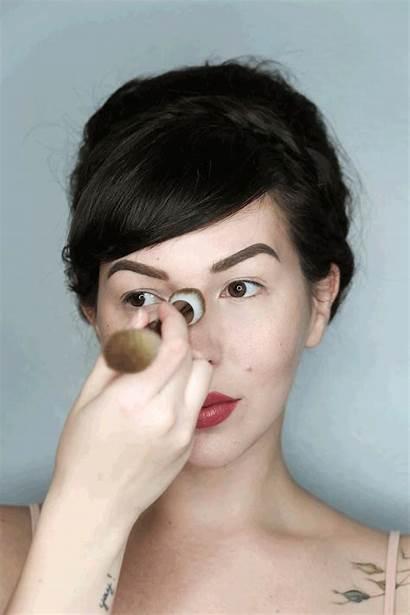 Highlight Blush Sculpt Nose Apply Contour Tutorial