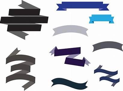 Ribbon Clipart Banner Vector Designs Vectors Banners