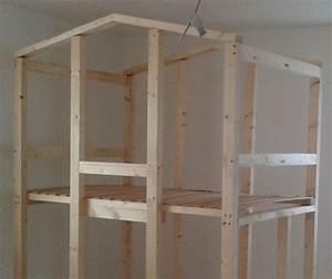 Construire Un Lit Cabane : mon lit cabane brico depot ~ Melissatoandfro.com Idées de Décoration