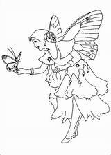Coloring Fairies Fairy Princess Fantasy Disney Butterfly Printable Children Preschool Getcolorings Neverland Tinkerbell Boys sketch template