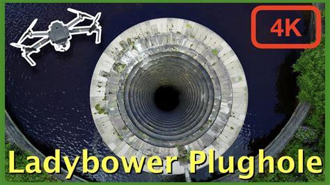 ladybower reservoir plughole  drone   dji mavic pro youtube