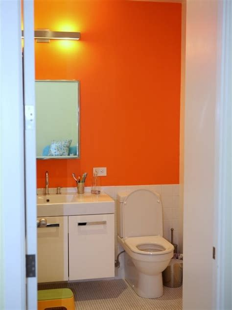 orange bathroom ideas 17 best ideas about orange bathrooms on orange