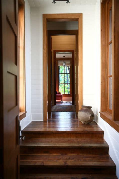 wood trim windows exterior farmhouse with symmetry
