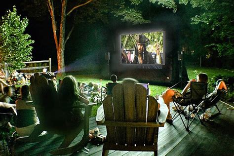 Outdoor Movie Night Tips