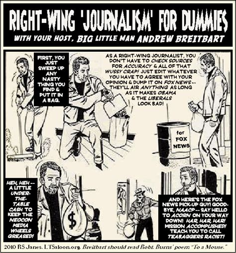 Journalism For Dummies by Right Wing Journalism For Dummies With Andrew Breitbart