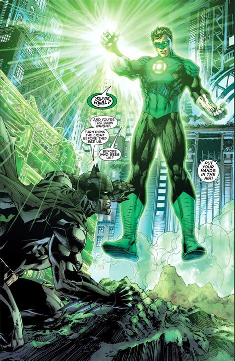52 lantern batman meeting justice league lanterns vol