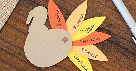 thanksgiving crafts  kids thankful paper turkeys