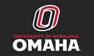 Black 3' X 5' O Logo/Univ. Of Nebraska Omaha Flag--silk ...