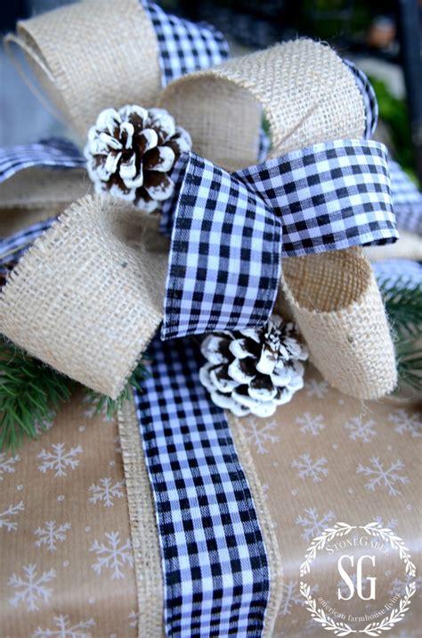 Christmas Gift Wrapping Ideas Stonegable