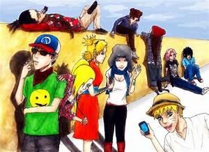 Naruto Hipsters by Amira-Amilia on DeviantArt