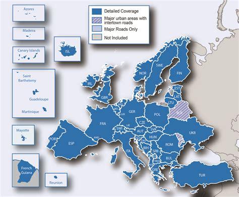 Carte Europe Centrale Garmin carte gps garmin croatie