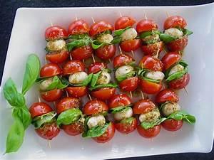 Tomate Mozzarella Spieße : tomaten mozzarella spie e von aurora ~ Lizthompson.info Haus und Dekorationen