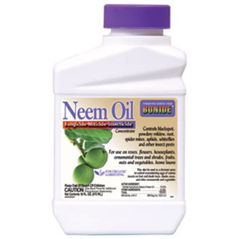 miticide for spider mites bonide neem concentrate 1 pint fungicide 7541