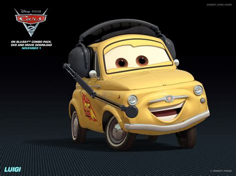 disney cars autos luigi disney pixar cars 2 wallpaper 28261258 fanpop