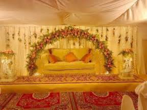 Decor Fabric Trends 2014 by Pakistani Wedding Stage Decoration Trendy Mods Com