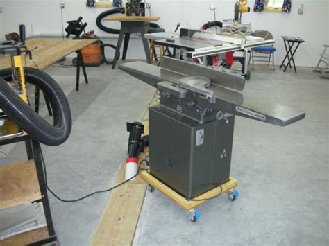 need quot shop made quot mobile base ideas for cabinet saw