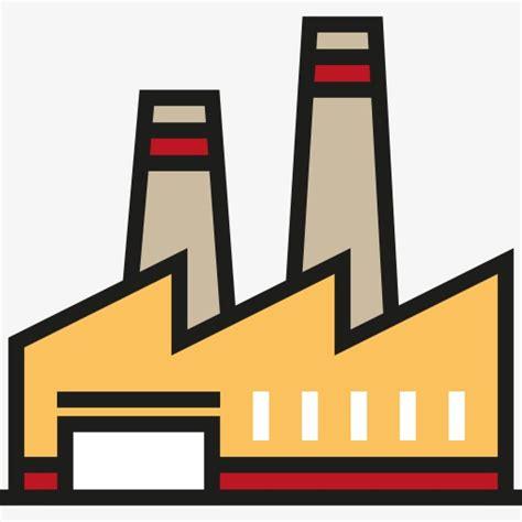 Factory Clipart A Plant Plant Clipart Factory Building Chimney Png