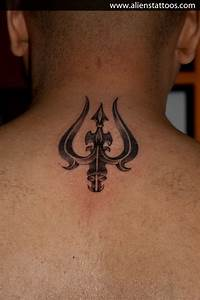 Trishul Tattoo, Designed and Inked by Sunny at Aliens ...