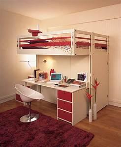Lit Mezzanine Ado : lits mezzanines attique ~ Teatrodelosmanantiales.com Idées de Décoration