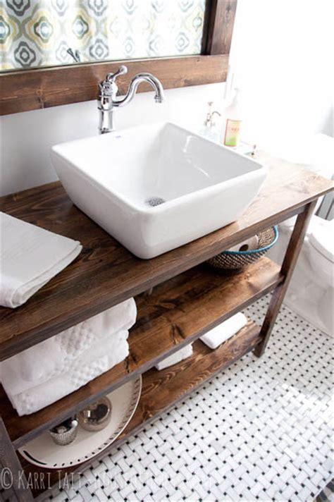 Wood Countertops For Bathroom Vanities