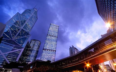 china hong kong skyscrapers  buildings  modern architecture  design hd wallpapers