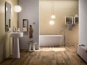 Sol Bois Salle De Bain : le carrelage imitation bois en 46 photos inspirantes ~ Premium-room.com Idées de Décoration