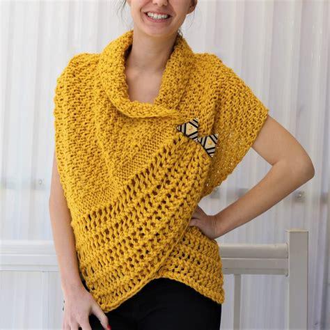 corali wrap knitting pattern  easy design