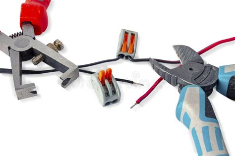 electrical connectors stock photo image  color cord