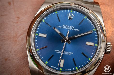 Handson Review  The 2015 Rolex Oyster Perpetual 39mm
