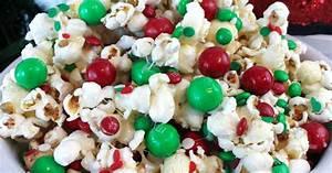 Santa Crunch Popcorn Two Sisters