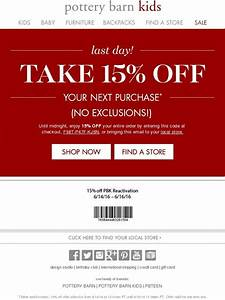 coupons pottery barn outlet coupon code for compact With 15 pottery barn coupon code