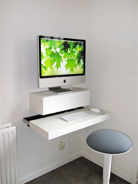 Wall Mounted Laptop Desk Ikea by 10 Space Saving Wall Mounted Desks Desks Ikea Space