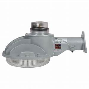 All Pro Led Dusk To Dawn Security Light Designer 39 S Edge 40 Watt Silver Dusk To Dawn Area Light