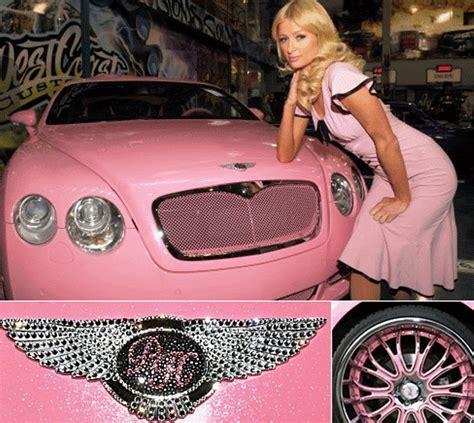 2012 Pink Bentley Continental Gt Paris Hilton