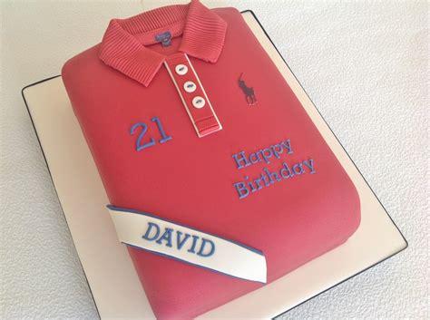 Ralph Lauren 21st Birthday Polo Shirt Cake Cakecentralcom