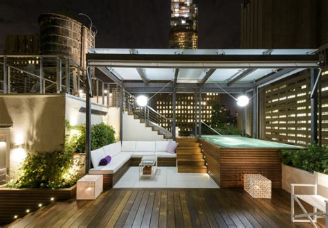 Roof Garden Decoration Ideas by 75 Inspiring Rooftop Terrace Design Ideas Digsdigs