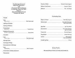 6 best images of free printable church program template With sample church bulletins templates