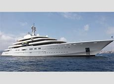The superyacht so big it's almost a ship Take a first