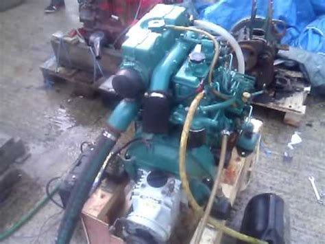 volvo penta mdd hp marine diesel engine youtube