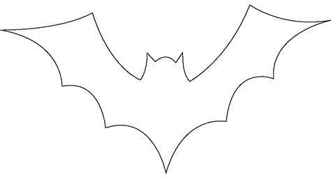 Bat Template Bat Outline Free Design Templates