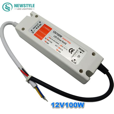 led power supply 12v 100w led driver power adapter