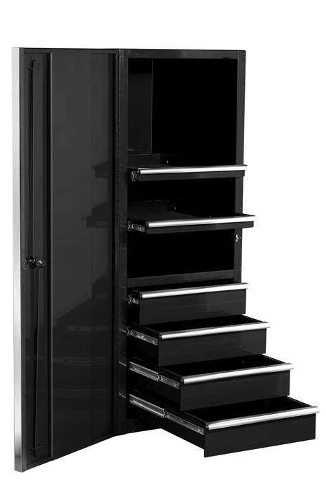 garage cabinets and drawers tall black metal garage storage cabinet with drawers