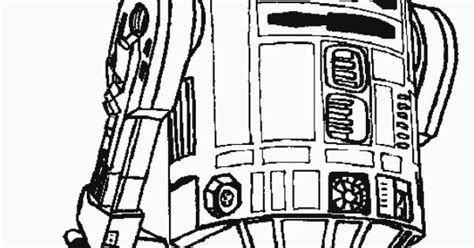 Robot R2-d2 Star Wars Coloring Pages