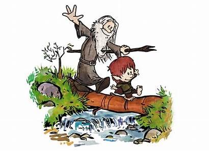 Calvin Hobbes Gandalf Frodo