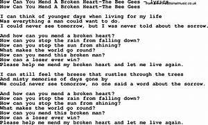 Broken Heart Qu... Broken Lyrics