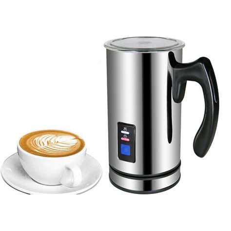 Coffee, tea & espresso makers. BioloMix Stainless Steel Milk foam Coffee Machine 220V Electric Milk Frother Foamer Milk Warmer ...