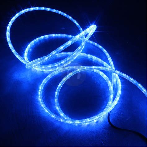 cool blue led 48m flexilight disco indoor outdoor garden